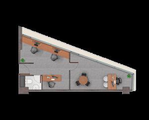 PLANTA B37,69 m2