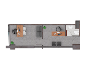 PLANTA C23,33 m2