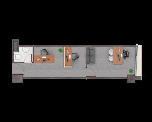 PLANTA D28,36 m2