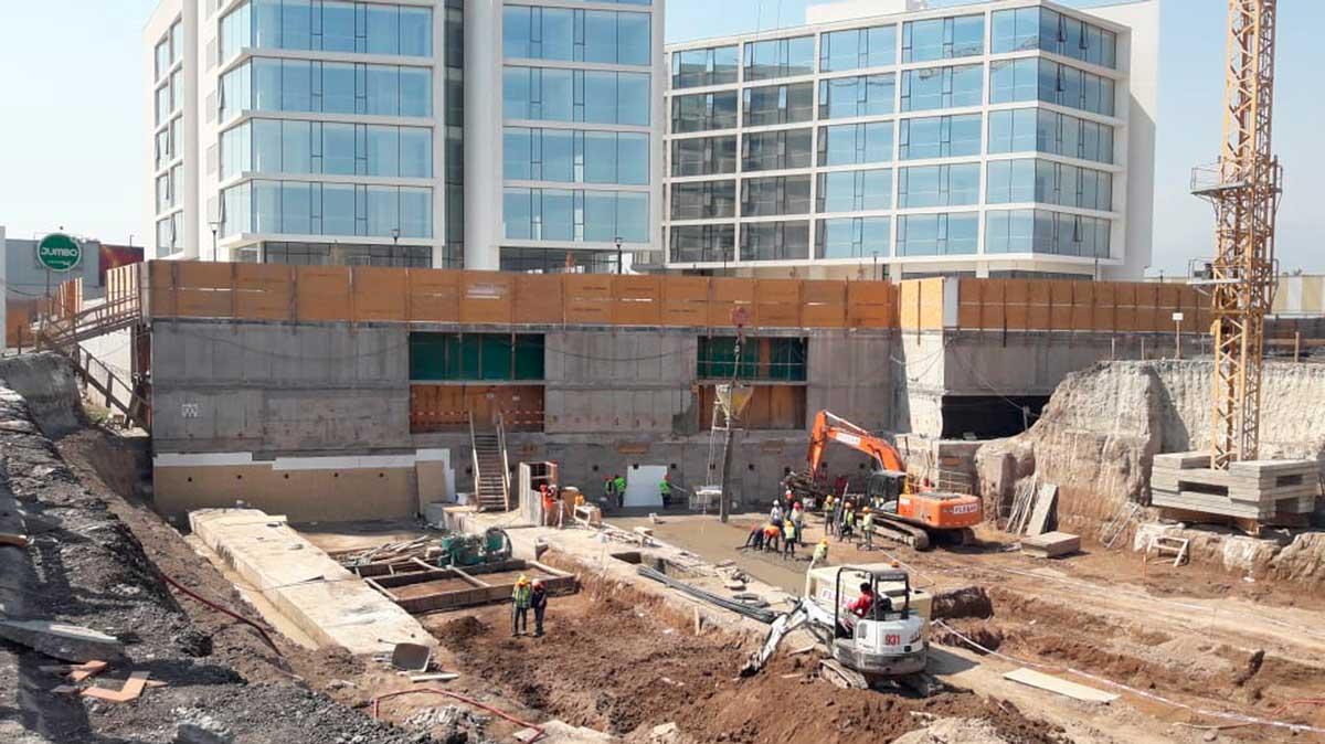 Avance de obra marzo 2020 Edificio Da Vinci