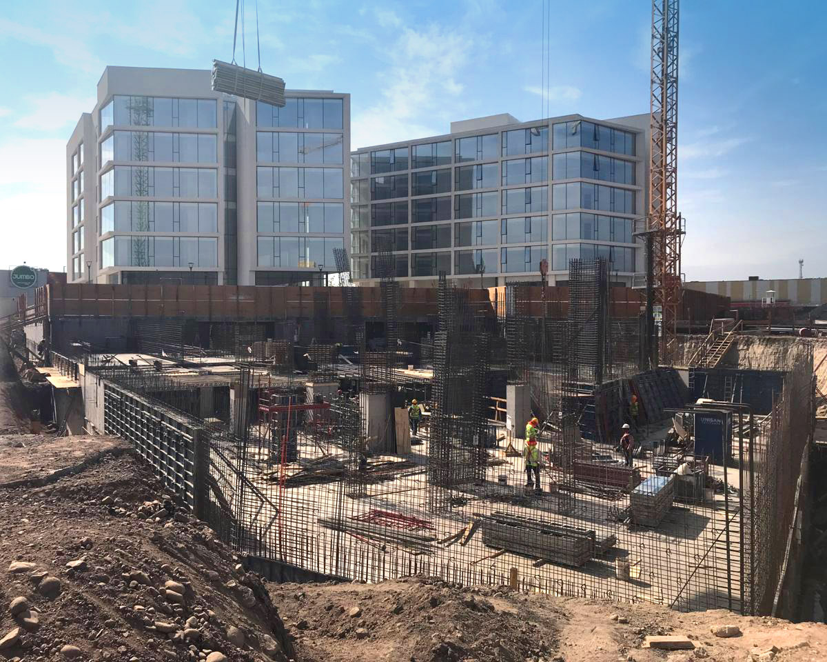 Avance de obra abril 2020 Edificio Da Vinci