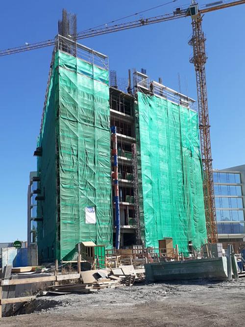 Avance de obra gruesa piso 8 - Dic 2020 Edificio Da Vinci