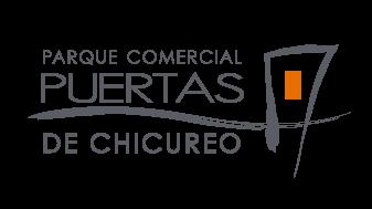 Logo Puertas de Chicureo Color Gris